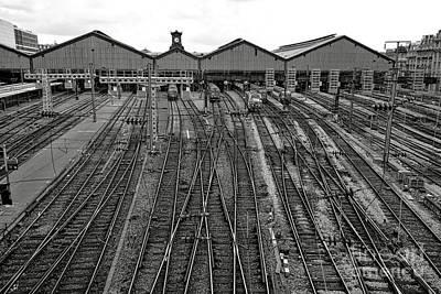 Photograph - Gare Saint Lazare by Olivier Le Queinec