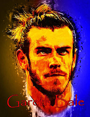Bales Mixed Media - Gareth Bale by Edelberto Cabrera
