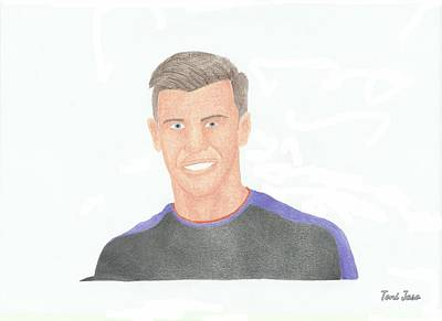Drawing - Gareth Bale by Toni Jaso