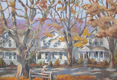 Painting - Garfield Avenue by Tony Caviston