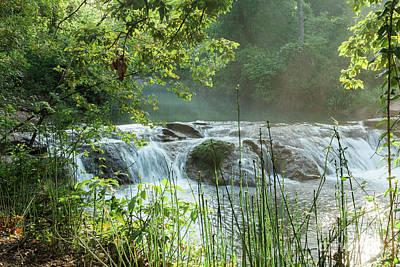 Photograph - Garfield Waterfall by Iris Greenwell