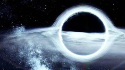 Painting - Gargantua, The Black Hole by Andrea Mazzocchetti