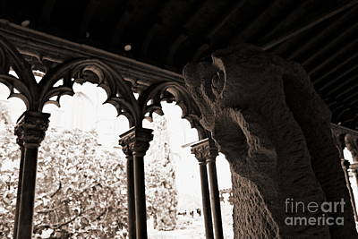 Photograph - Gargoyle by Cendrine Marrouat
