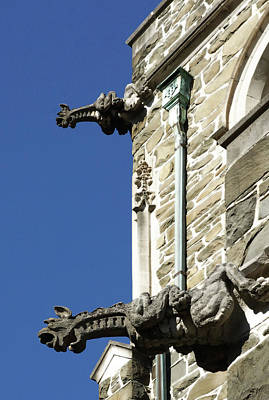 Photograph - Gargoyle Guardians by Cate Franklyn