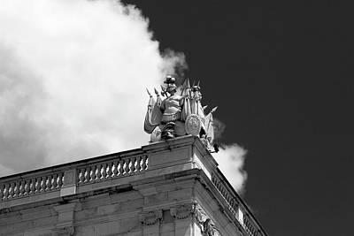 Photograph - Gargoyle Soldier, Lisbon by Lorraine Devon Wilke