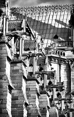 Photograph - Gargoyle Watching by John Rizzuto