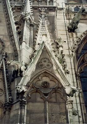 Photograph - Gargoyles Of Notre Dame by Christopher Kirby