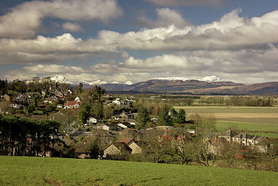Photograph - Gargunnock by RKAB Works
