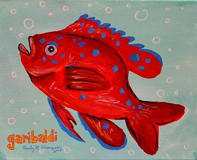 Garibaldi Art Print by Emily Reynolds Thompson