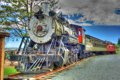 Photograph - Garibaldi Steam 2 by Richard J Cassato