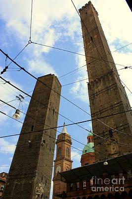 Photograph - Garisenda And Asinelli Towers by Mariana Costa Weldon