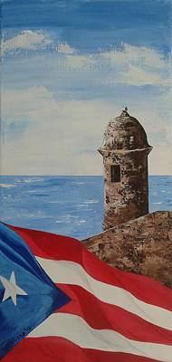 Garita Y Bandera  Original