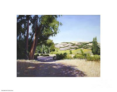 Garland Park Painting - Garland Park by Sam Johnston