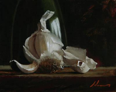Painting - Garlic and Balsamic by Michael Lynn Adams