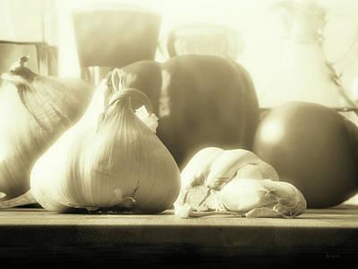 Photograph - Garlic Before The Sauce by Bob Orsillo