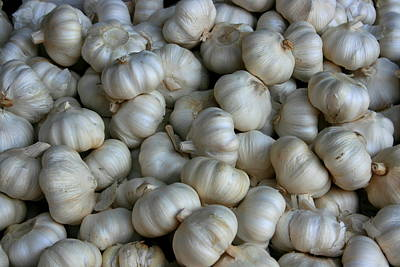 Photograph - Garlic by David Dunham