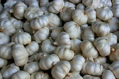 Photograph - Garlic by David Dunham