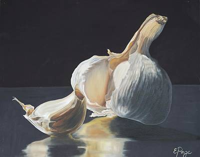 Cloves Painting - Garlic II by Emily Page