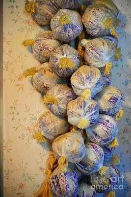 Photograph - Garlic by Tamara Michael