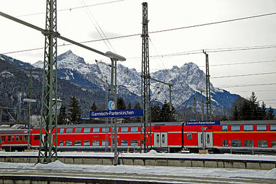 Photograph - Garmisch-partenkirchen In Winter by Robert Meyers-Lussier