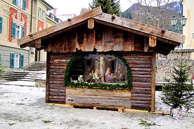Photograph - Garmisch-partenkirchen Manger Study 1 by Robert Meyers-Lussier