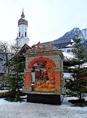 Photograph - Garmisch-partenkirchen Manger Study 2 by Robert Meyers-Lussier