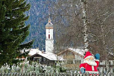 Photograph - Garmisch-partenkirchen Study 12 by Robert Meyers-Lussier