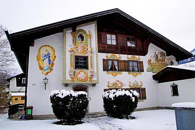 Photograph - Garmisch-partenkirchen Study 13 by Robert Meyers-Lussier