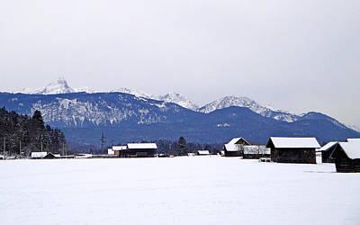 Photograph - Garmisch-partenkirchen Study 14 by Robert Meyers-Lussier