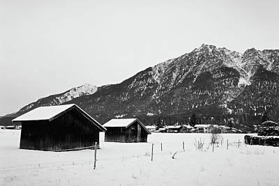 Photograph - Garmisch-partenkirchen Study 15 by Robert Meyers-Lussier