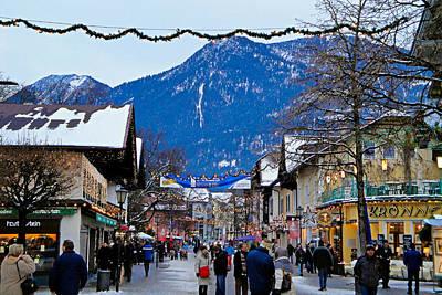 Photograph - Garmisch-partenkirchen Study 21 by Robert Meyers-Lussier