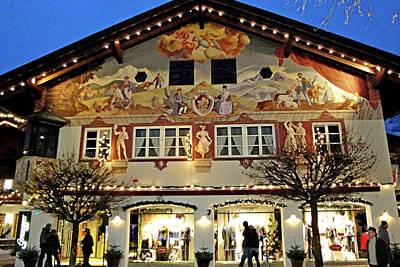 Photograph - Garmisch-partenkirchen Study 22 by Robert Meyers-Lussier