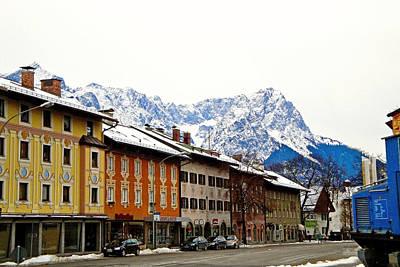 Moody Trees - Garmisch-Partenkirchen Study 8 by Robert Meyers-Lussier