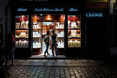 Photograph - Garnet Shopping by M G Whittingham