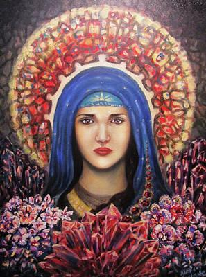 Garnet Maria Art Print