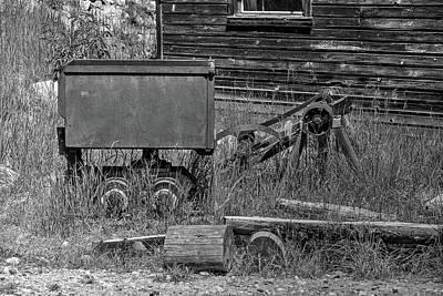Photograph - Garnett Oar Tender by Richard J Cassato