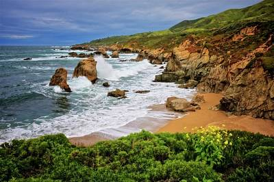 Photograph - Garrapata Beach, Carmel, California by Flying Z Photography by Zayne Diamond