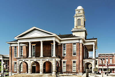 Photograph - Garrard County Courthouse by Sharon Popek