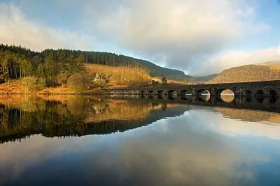 Photograph - Garreg Ddu Viaduct Reflections by Stephen Taylor