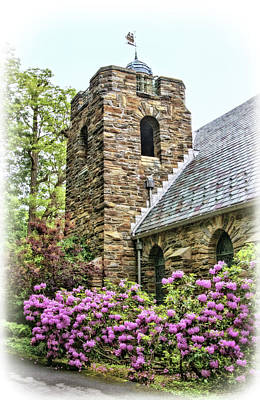 Photograph - Garrett Chapel By Keuka Lake by Carolyn Derstine