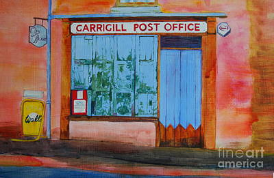 Painting - Garrigill Post Office by Eleanore Ditchburn