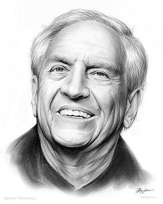 Garry Marshall Art Print by Greg Joens
