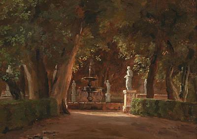 Painting - Gartenpromenande by Thorald Laessoe