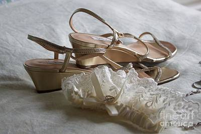 Photograph - Garter And Shoes by Terri Thompson