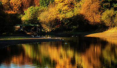 Photograph - Gartmorn Dam In Clackmannanshire by Jeremy Lavender Photography