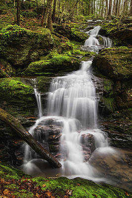 Photograph - Garwin Falls - Left Cascade by Robert Clifford