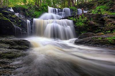 Photograph - Garwin Falls by Rick Berk