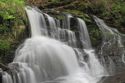 Photograph - Garwin Falls Upper Cascade by John Burk