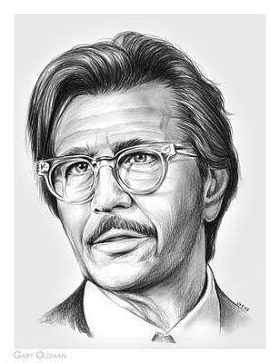 Celebrities Royalty-Free and Rights-Managed Images - Gary Oldman by Greg Joens