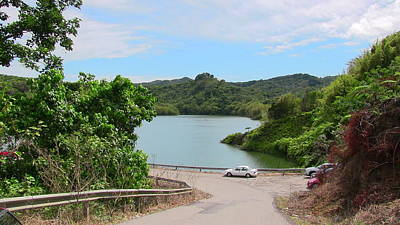 Photograph - Garzas Lake Road by Walter Rivera Santos
